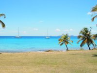 Coco d'îles au mouillage
