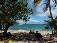 Petite plage devant chez Eugénette