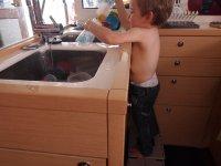 C'est mon tour de vaisselle !