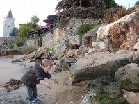 La plage, une grande première pour Loann