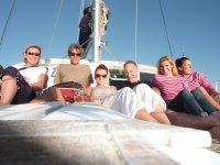2ème semaine de stage, 2ème équipage et toujours Philippe, notre formateur.