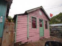 Exemple d'habitation dans la petite ville pauvre de Canaries