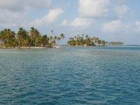 Arrivée aux Lemmon Cays - San Blas