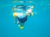 Il est comme un poisson dans l'eau !