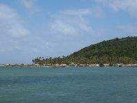 L'extrêmité de l'île est habitée par quelques familles indiennes Kunas