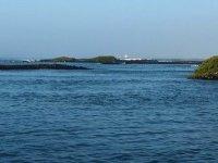 Dernière vue de la baie d'Isabela, aux Galapagos, avant de partir 3 semaines de nav' sans intéruption