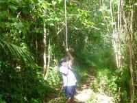 Papy se prend pour Tarzan...
