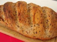 Et pis du pain aussi, pacequ'y pas de boulanger non plus !