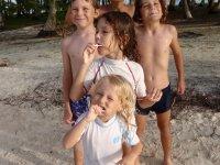 Un bout de la bande de copains sur la plage
