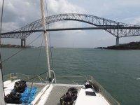 Le célèbre pont des Amériques