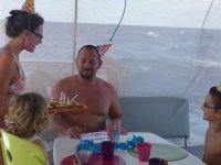 On fête l'anniversaire de Marc