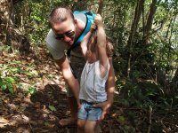 Et Loann aussi, il voudrait faire Tarzan !