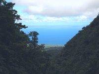 D'ici, vue sur la mer des Caraïbes