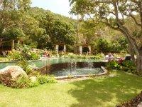 la piscine du « Loterie Farm » au Pic Paradis...