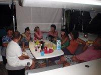 Apéro avec les Géro, Roxanna et Hippos camp