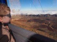 Téléphérique jusqu'au volcan