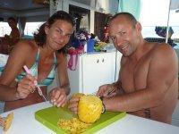 Il est préparé avec amour, cet ananas !
