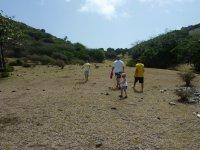 Nous voilà partis à la découverte de cette îlot bien verdoyant...