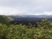 "Caldeira du volcan ""Sierra Négra"""