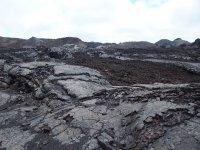 Coulées de lave (la dernière datant de 7 ans auparavant)